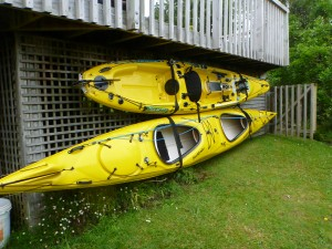 kayak storage wit surf to summit