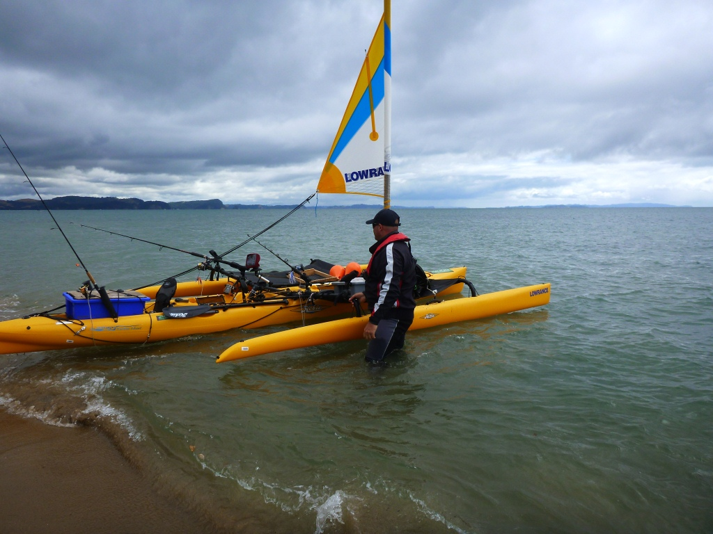 Hobie Tandem Island stanmore bay launch