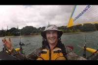 Hobie kayak Tandem Island kayak fishing with Paddle Guy