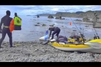 Kayak fishing in Wellington with Dave from Fergs Kayaks