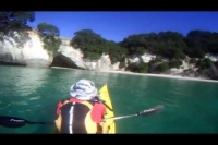 Sea kayak trip Cathedral Cove Coromandel NZ
