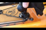 Railblaza StarPort modification for greater Rod holder adjustment