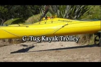 CTug Kayak trolley review paddleguy.com