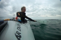 Barracuda Kayaks AR Duo session with Sandra Stanmore Bay NZ