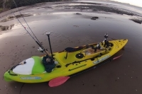 Kayak fishing Viking Profish 400 | Stanmore Bay Jan 2013