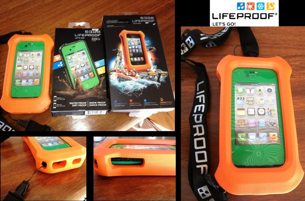lifeproof case with lifejacket