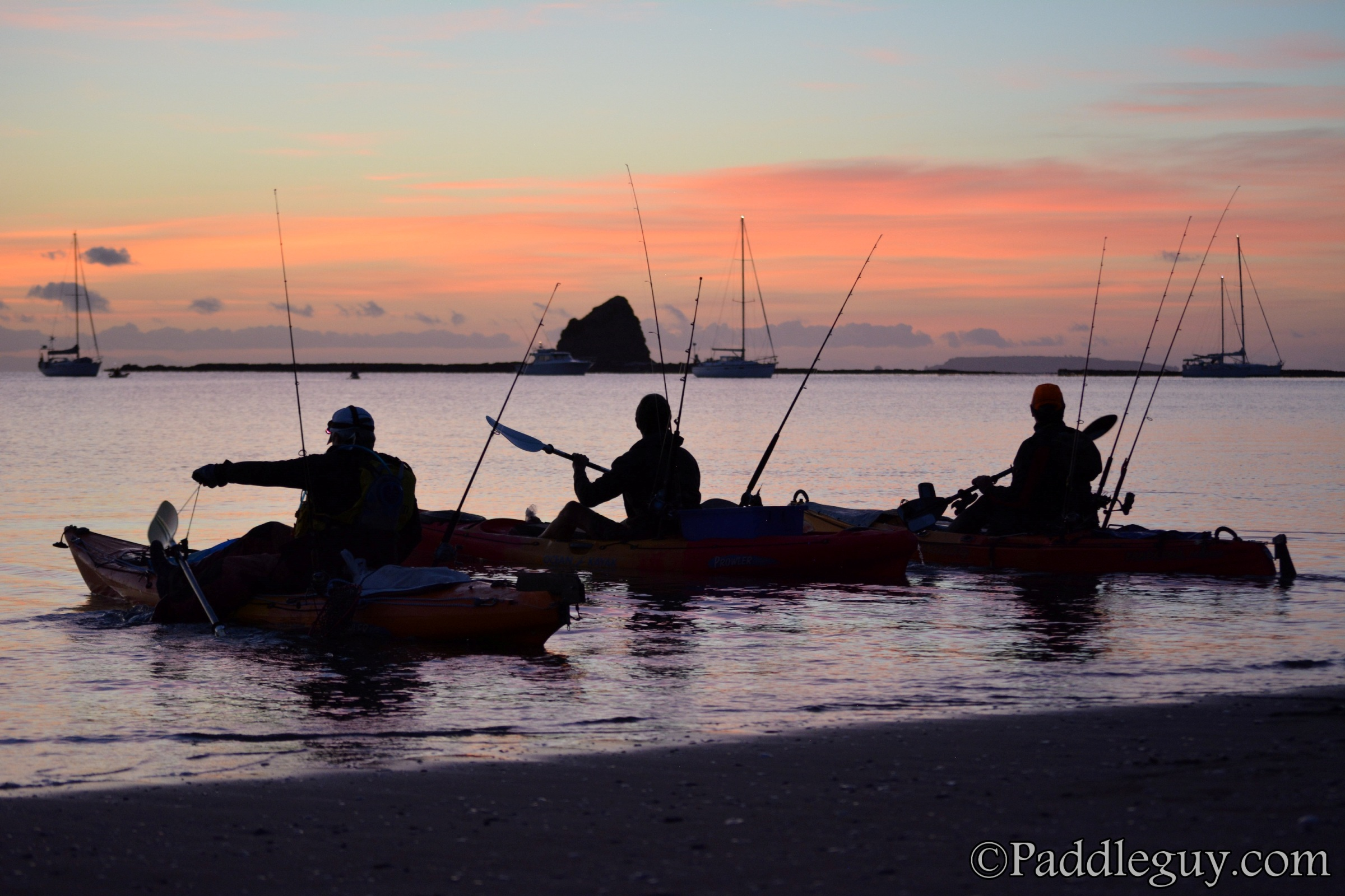 Kayak Fishing Mahurangi Viking Kayaks001001033