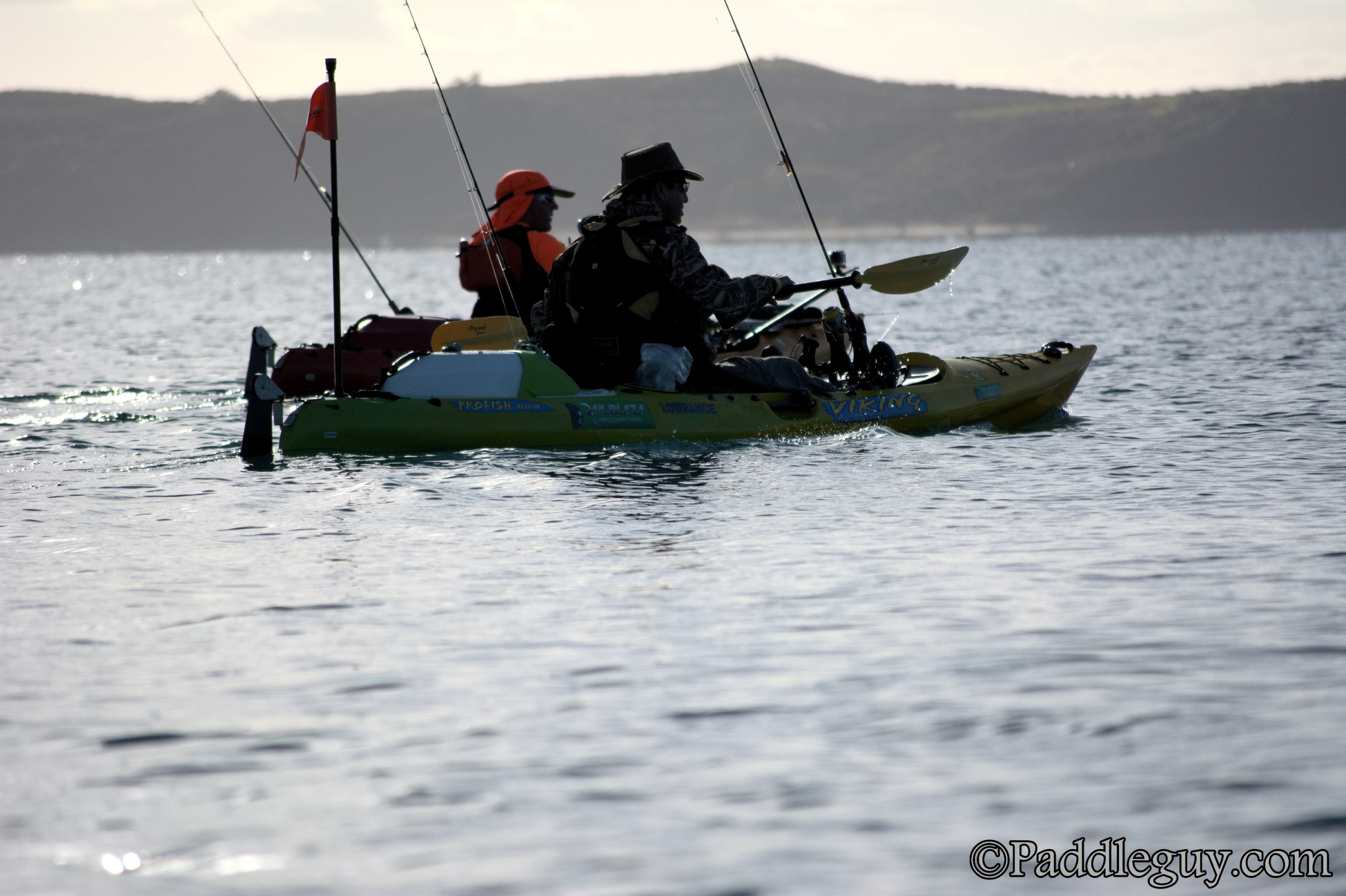 Kayak Fishing Mahurangi Viking Kayaks001001119