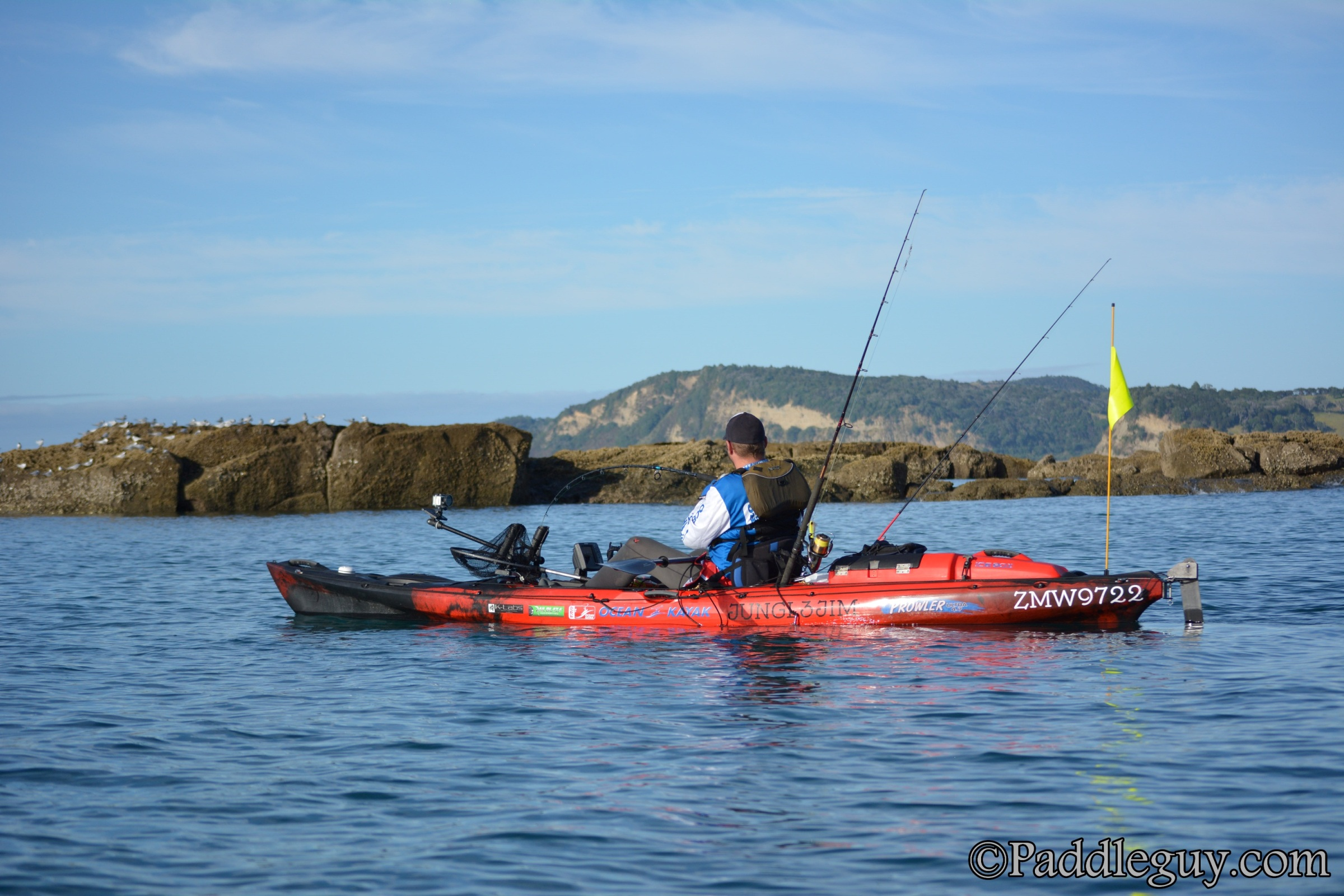 Kayak Fishing Mahurangi Viking Kayaks001001122