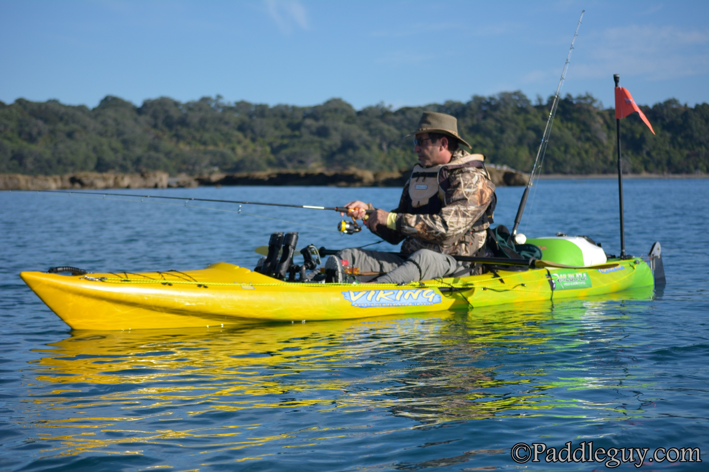Kayak Fishing Mahurangi Viking Kayaks001001125